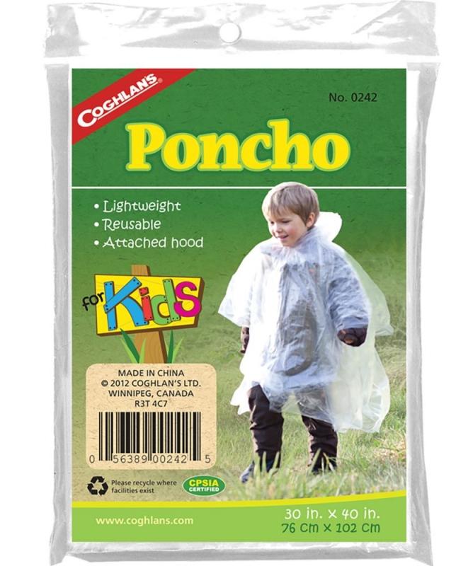 Coghlan´s dětské pončo Kids Poncho