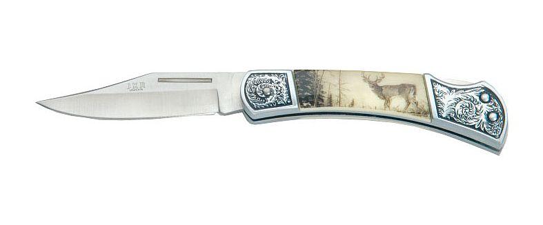 Joker nůž s motivem jelena 80 mm